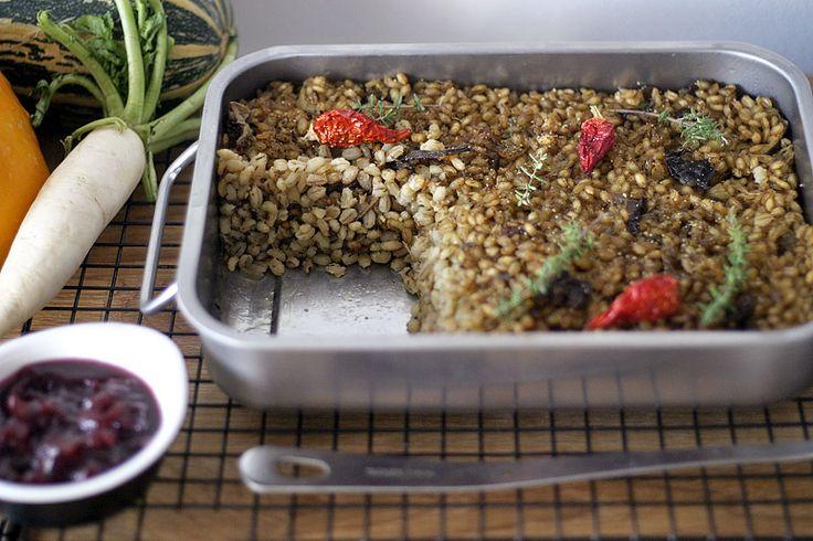 Houbový kuba s pastiňákovo-celerovým pyré | Veganotic