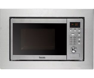 Baumatic BMM204SS Built In Microwave - Stainless Steel Product Image