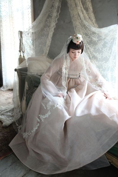 I wanna use this Hanbok wedding dress,pleaseeee