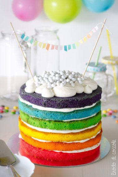 Rainbow cake (la torta arcobaleno)