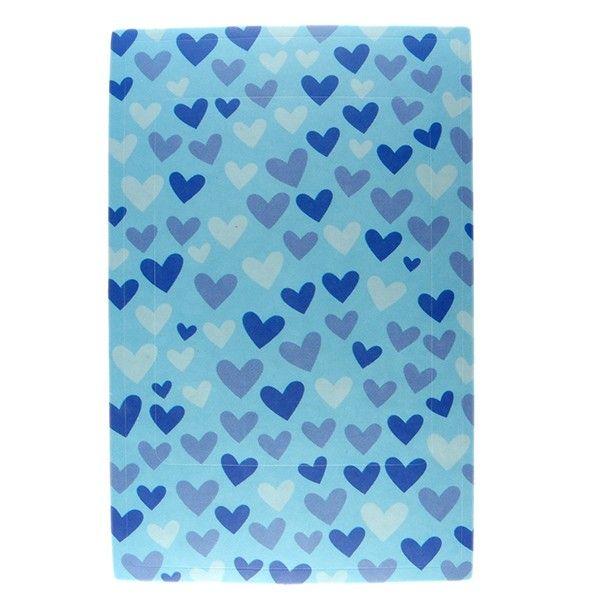 cadre photo sticker bleu coeurs bleus coeur bleu cadres. Black Bedroom Furniture Sets. Home Design Ideas