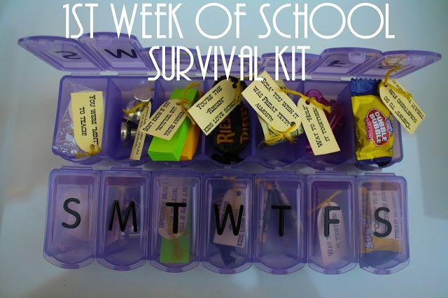 Teacher Survival Kit Printable