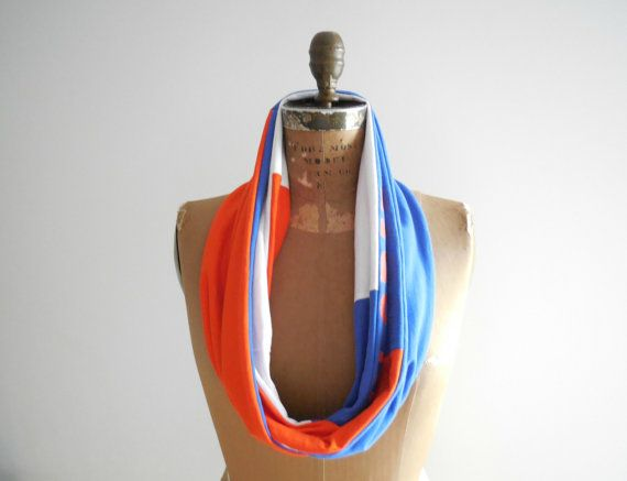 Florida Gators T-shirt Scarf Womens Scarves Recycled by ohzie