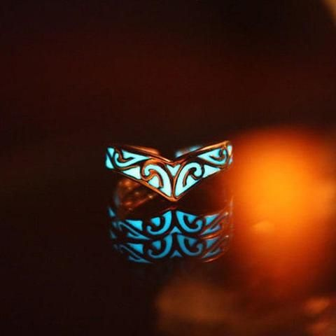 Glowing Celtic Ring