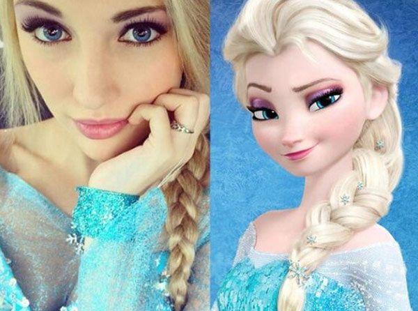 'Frozen:' Meet The Real-Life Disney Princess Elsa — Pics