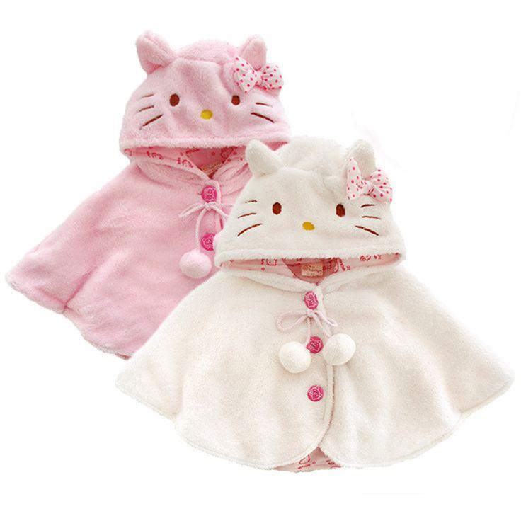 Ucuz Moda 0 3y hello kitty kız bebek giysileri, yumuşak polar pelerin bebek kız giyim cape giyim ceket, bebek giysileri jmf036, Satın Kalite ceket ve mont doğrudan Çin Tedarikçilerden:              &nbsp