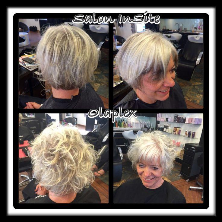 Perm with Olaplex  OLAPLEX Great Hair With Olaplex  Silver Hair Hair styles og Great hair