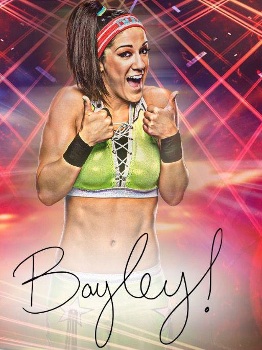 Apple Watch Face - Bayley!. wwe bayley champ champion raw