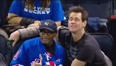 Spike Lee and Jim Carrey