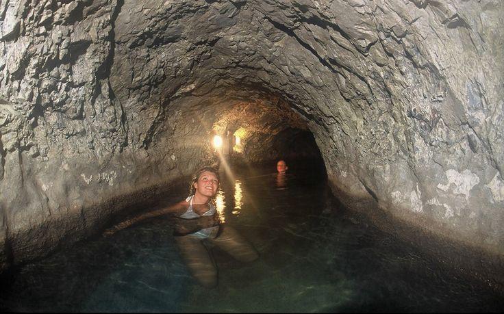 Grotta sudatoria   QC Terme Bagni Vecchi  di Bormio