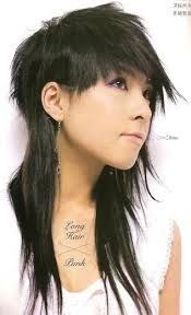 long asian mullets - Google Search