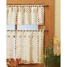 Crochet Patterns Valances : 1000+ images about Crocheted Curtain Patterns on Pinterest Vienna ...