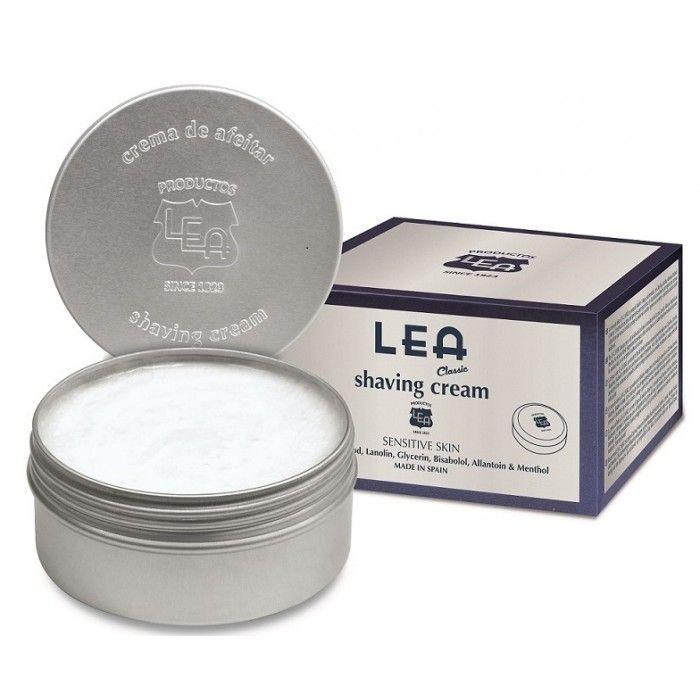 LEA Classic Shaving Cream in Aluminum Tub, Made in Spain