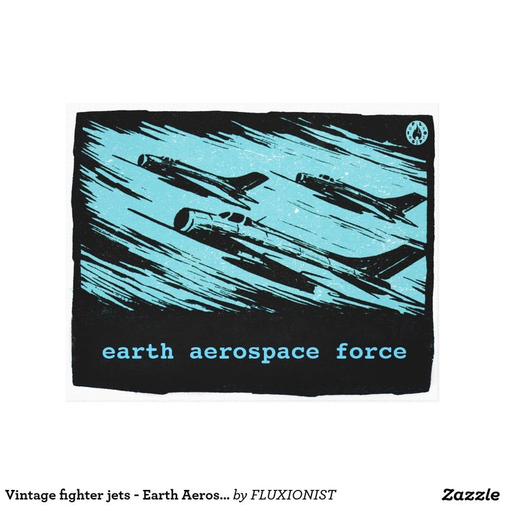 """Earth Aerospace Force: Jet Fighters"" Canvas Print - $119.95 Made by Zazzle Art / Design: Fluxionist"