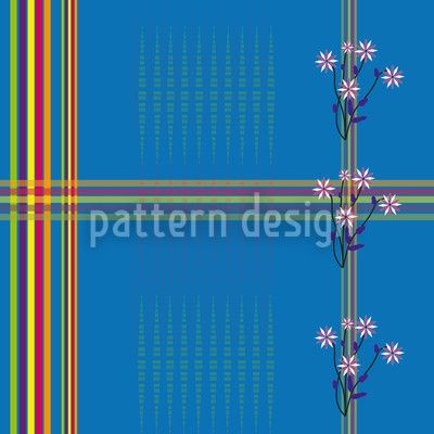 Garden By The Sea by Gangadevi Rajesh available as a vector file on patterndesigns.com