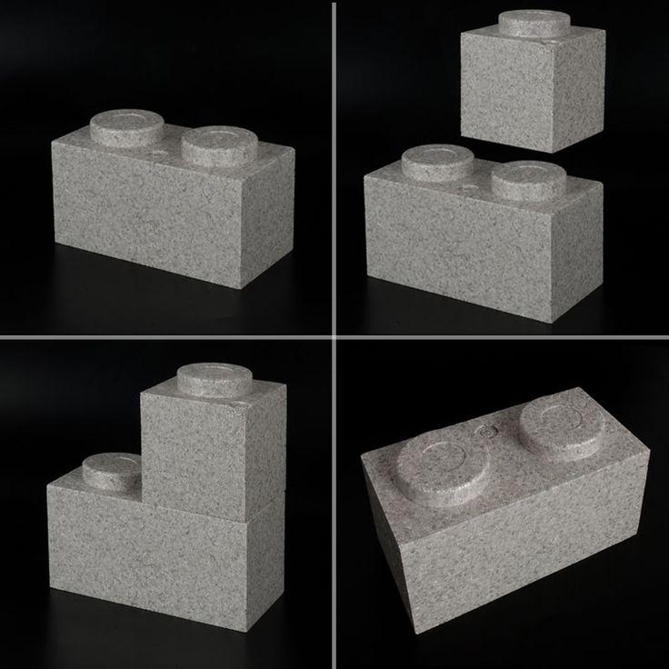 PIEZAS CONSTRUCCIÓN PÓREX, TIPO LEGO. Estas originales piezas de poliestireno expandido imitan los ladrillos y son perfectas para crear construcciones educativas y lúdicas, escaparates, ...