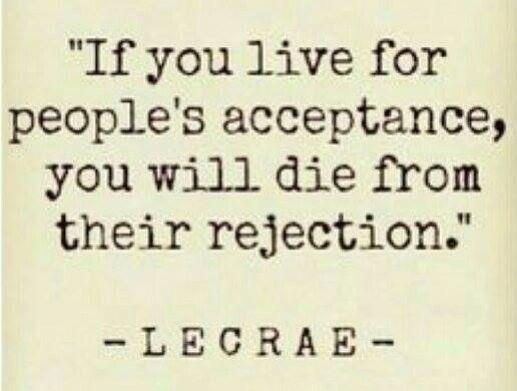 Acceptance ... Rejection