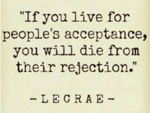 Acceptance ... Rejection