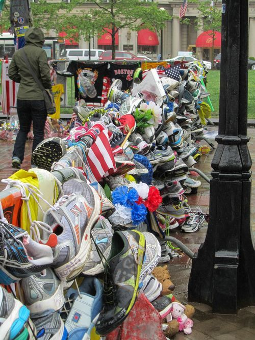 2013 Boston Marathon bombing victims memorial