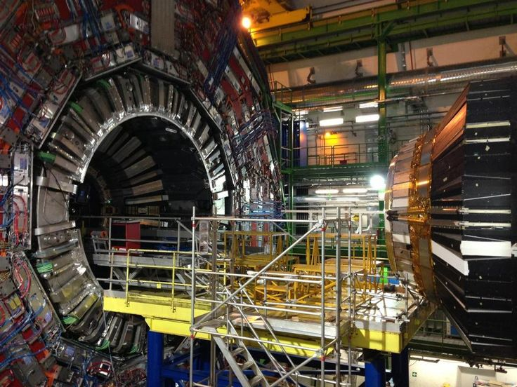 Cern - The large hydrogen collider is based in #Geneva, it is possible to go down and see the collider in all of its magnificence