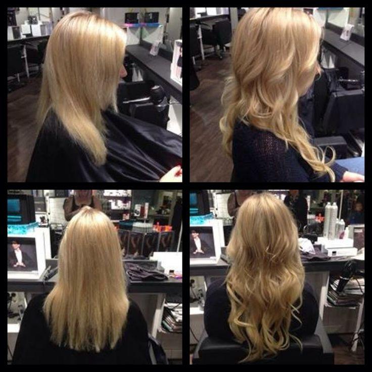 "From ""short hair"" to long hair  Model : Eir"