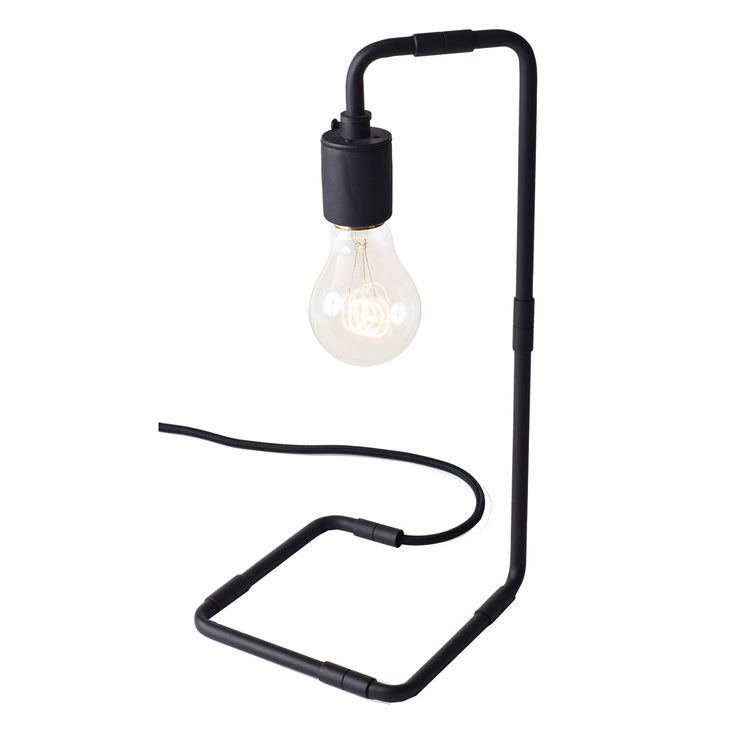 Reade pöytälamppu, musta ryhmässä Valaistus / Valaisimet / Pöytälamput @ ROOM21.fi (130181)