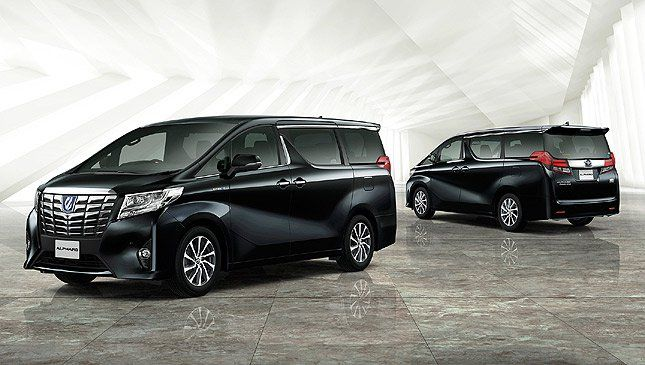 3rd-generation Toyota Alphard now officially in PH