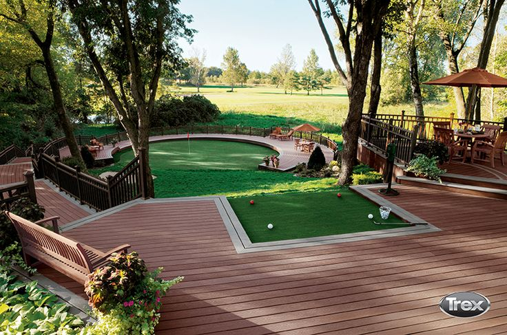 Looking for an out-of-the-box deck design? From golf ...