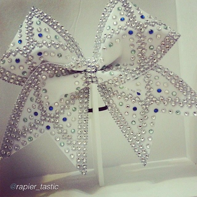 "Cheer bow of the day. by @rapier_tastic ""@foreverxclusive Isn't she beautiful?! Forever Xclusive ""XCLUSIVE COLLECTION"" #beautiful #cheer"
