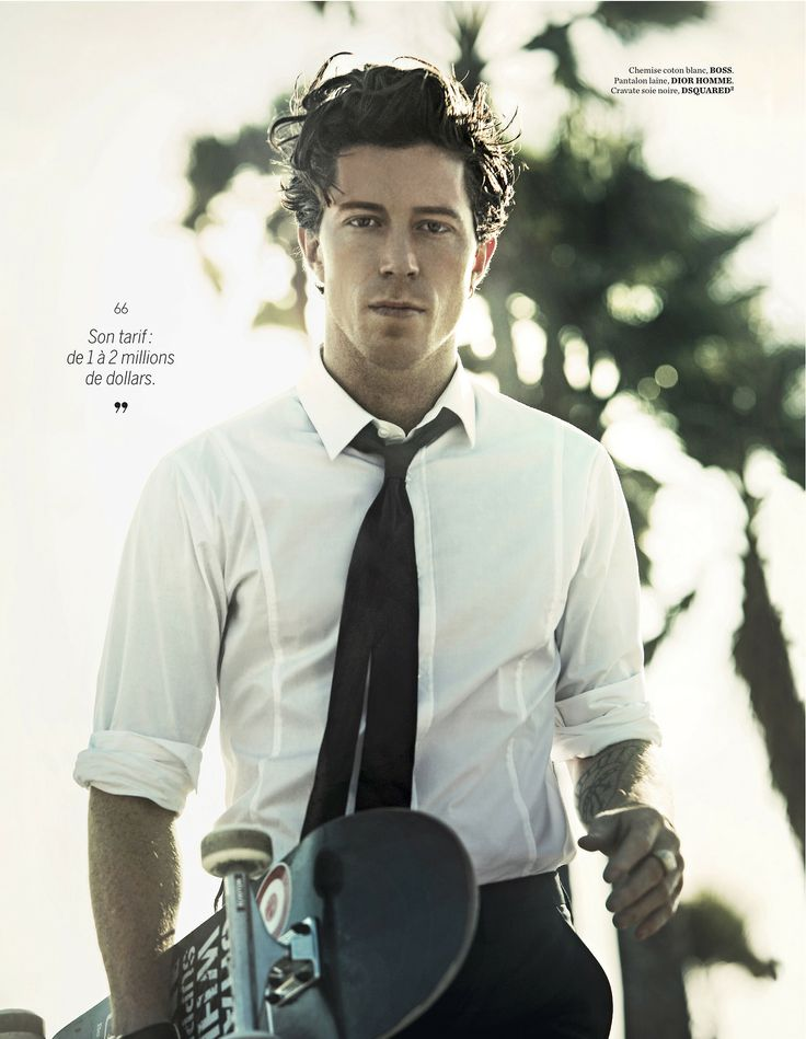Christian Stroble styles Shaun White for Citizen K Homme Sport!