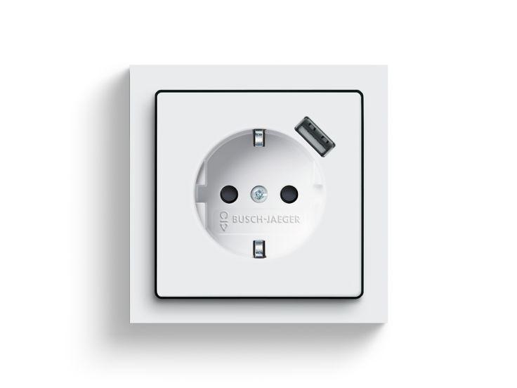 SCHUKO® USB-Steckdose: Busch-Jaeger.de