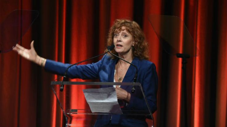 """Actress Susan Sarandon in an interview published Sunday said the presidency wouldn't be much smoother with Hillary Clinton instead of President Trump, saying that the former Democratic nominee was """"dangerous."""""""