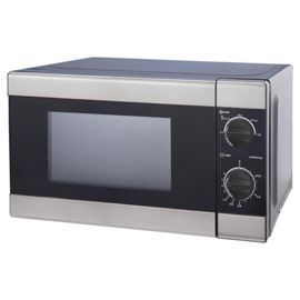 Tesco direct: Tesco Solo Microwave 17L - Black and Silver