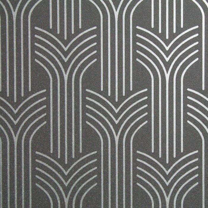 Cinema Art Deco Wallpaper