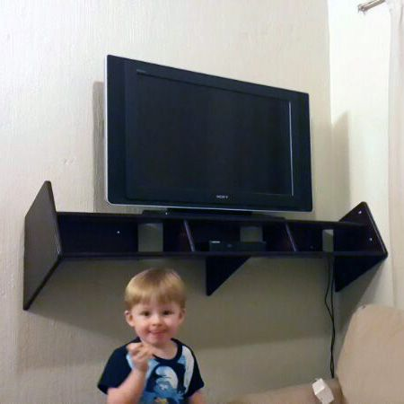 Wall Mounted TV unit - Lacquered MDF. Furniture by Woodby in Johannesburg, South Africa