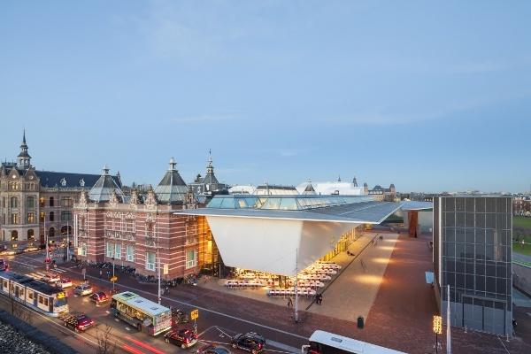 Stedelijk Museum  Design: A.W. Weissman / Benthem Crouwel Architecten  Commissioner: Gemeente Amsterdam