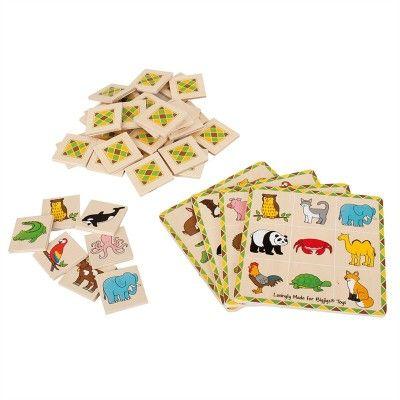 Bigjigs Toys drevené hry - Loto