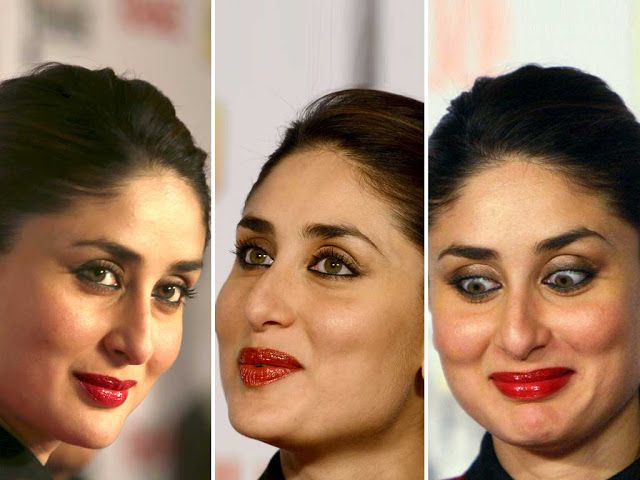 Fantastic HD Photos of Kareena Kapoor Khan in Red Dress at 58th Idea Filmfare Awards - HD Photos