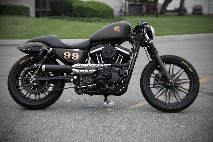 RSD Cafe Sportster - Harley Nightster   http://www.rolandsands.com/wp/2010/08/24/cafe-sportster-3/