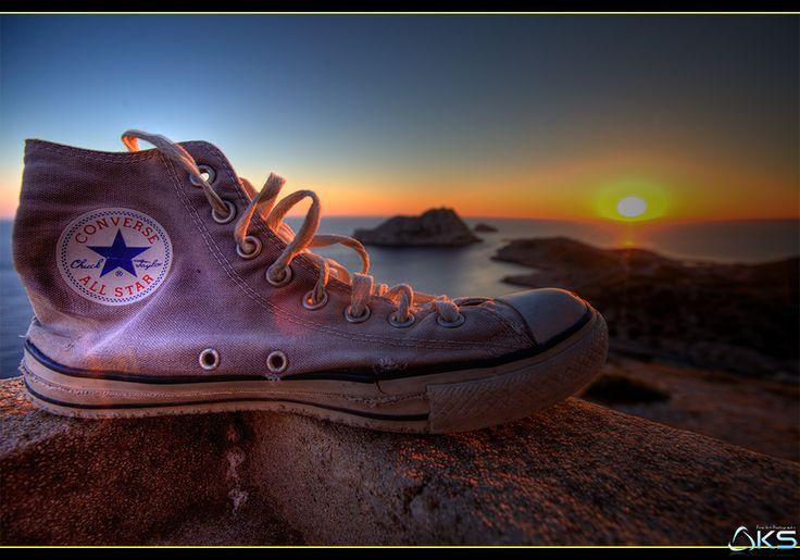 All Star Sunset by Karim SAARI on 500px #Provence #chucktaylor #allstar #beach #beautiful #beauty #blue #bouches-du-rhône #calanque #clouds #converse #converses #fashion #france #girl #light #marseille #mer #model #ocean #provence #sea #shoes #sky #summer #sun #sunset #water