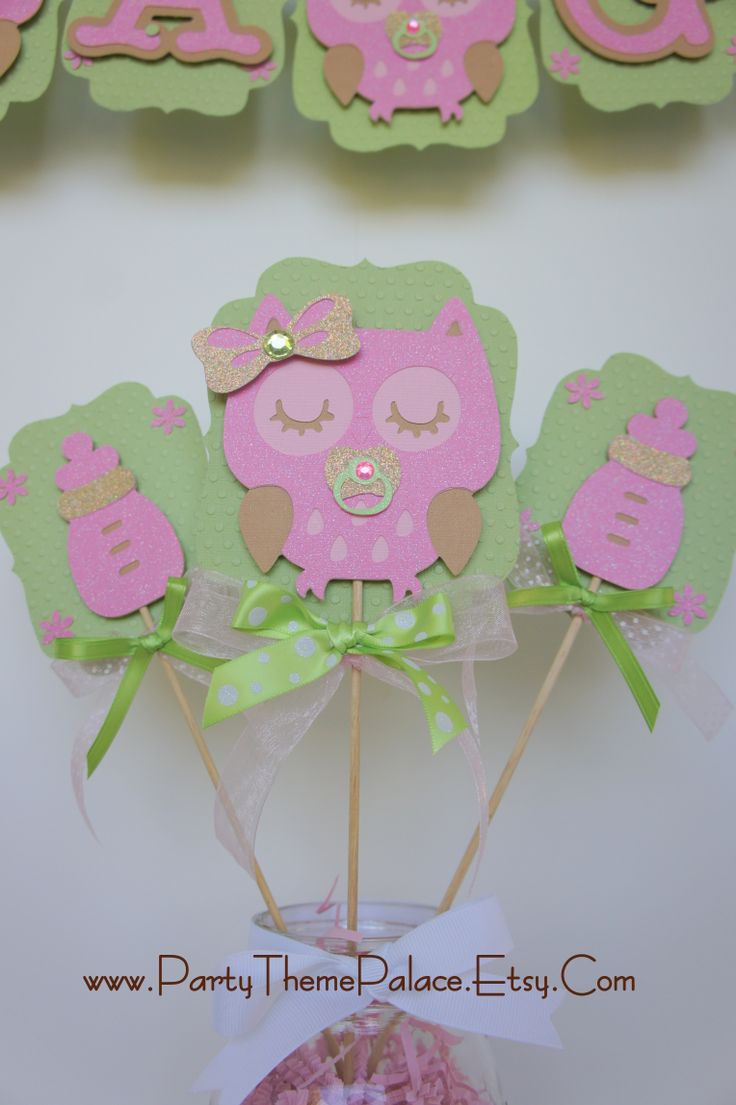 Owl Baby Shower Decorations