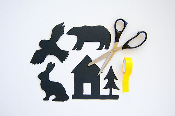 DIY Free Printable Shadow Puppet Bedtime Stories