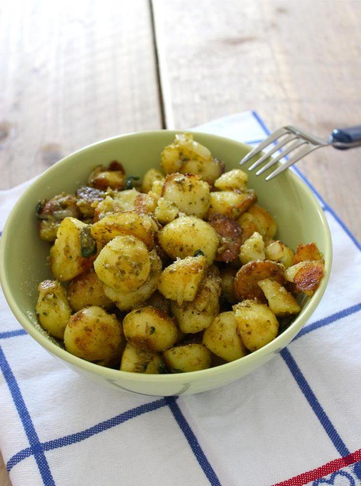 Pesto aardappeltjes - Lekker en Simpel