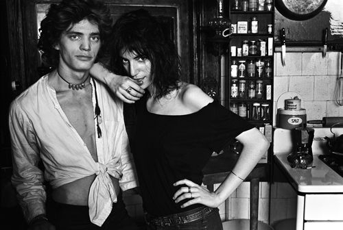 Robert Mapplethorpe and Patti Smith, Photograph by Norman Seeff, used with gracious permission by the photographer. They just look so fantastically awesome.