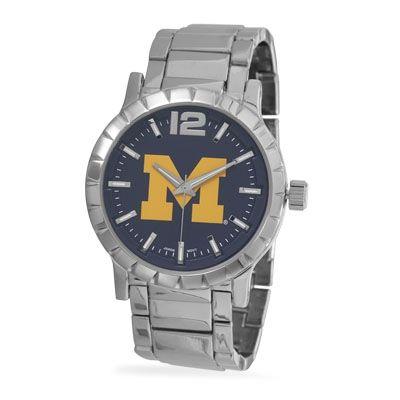 Collegiate Licensed University of Michigan Men's Fashion Watch