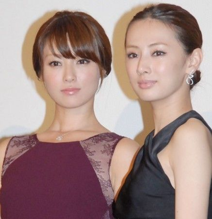 Actress Keiko Kitagawa on the red carpet in Japan