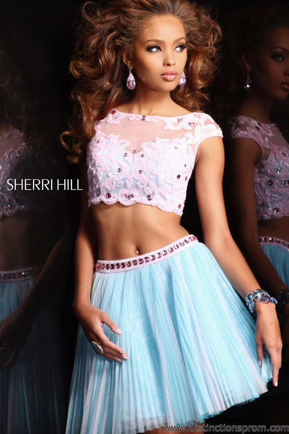 Two piece Prom outfit. How fun is this? Shows off your new ...