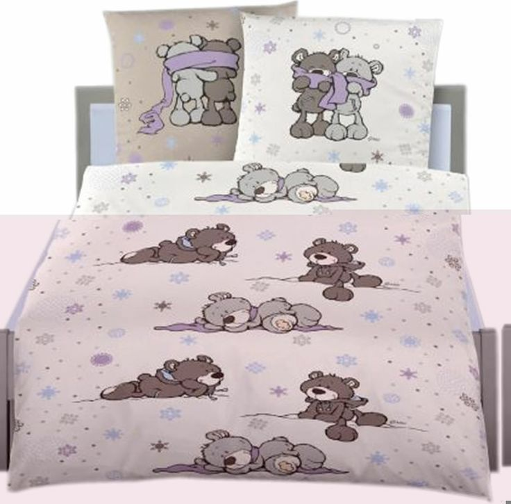 Nici Bed linen Winter Bears flanell online at Papiton.