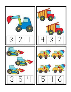 This is really easy and clear math activity for preschool and Pre-k ages. Teahcer can help the children to count the cars first and then circule the right number with explain it for them. Teacher can try this in her class but without pushing them too hard.