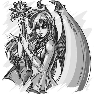 Dark fairy vampires which dark fairy angel is coolest for Dark angel coloring pages